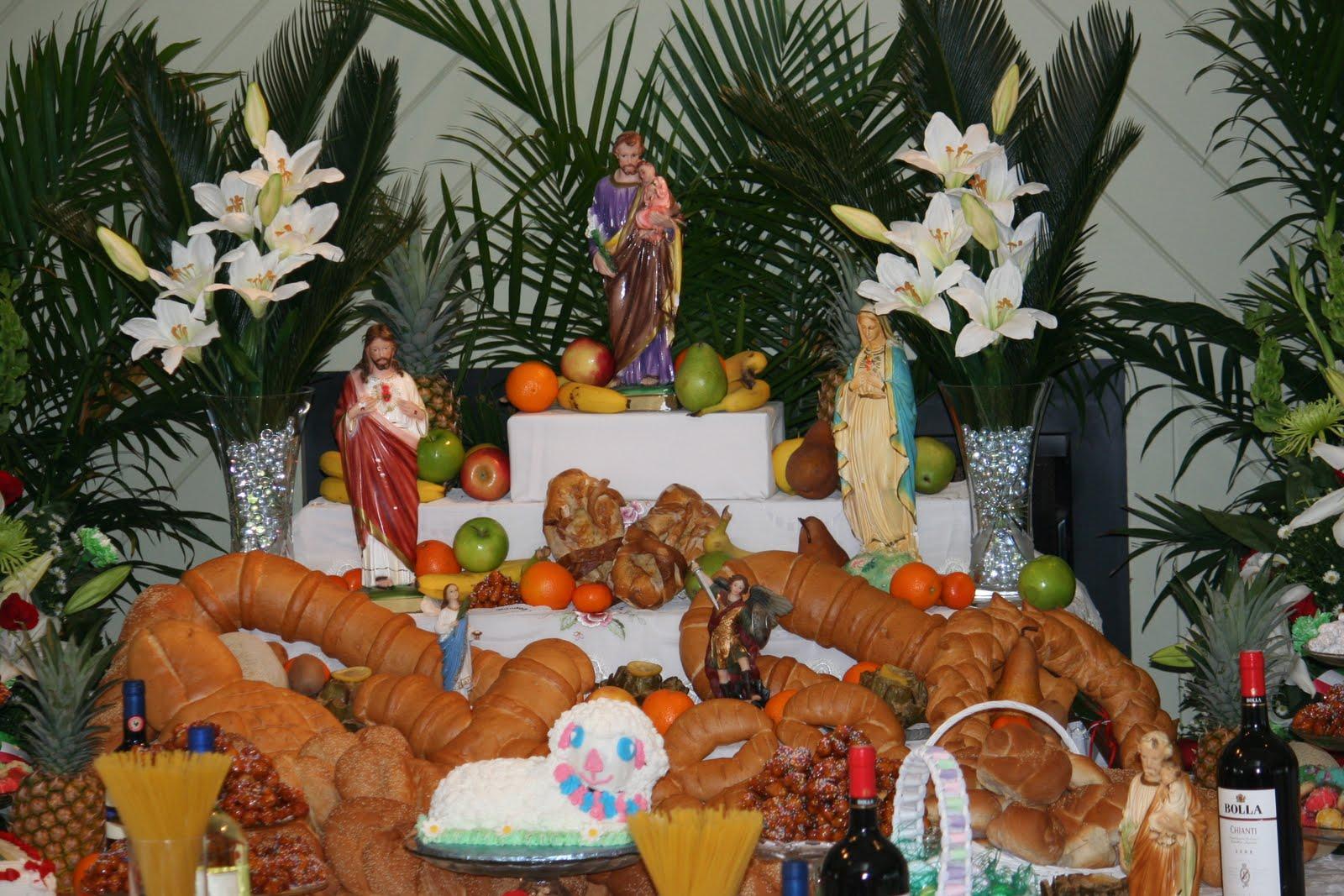 St. Joseph Altars New Orleans