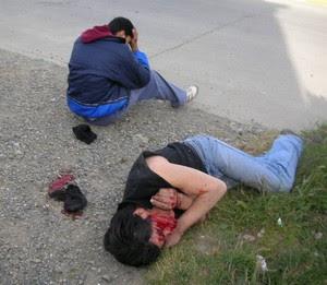 VIOLENTA PELEA EN RIO GRANDE