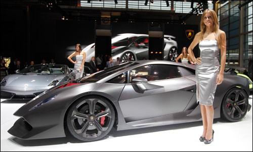Lamborghini Sesto Elemento 2010. Lamborghini Sesto Elemento