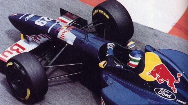 Equipe Sauber de Formula 1 de 1995 by blogsportbrasil.blogspot.com