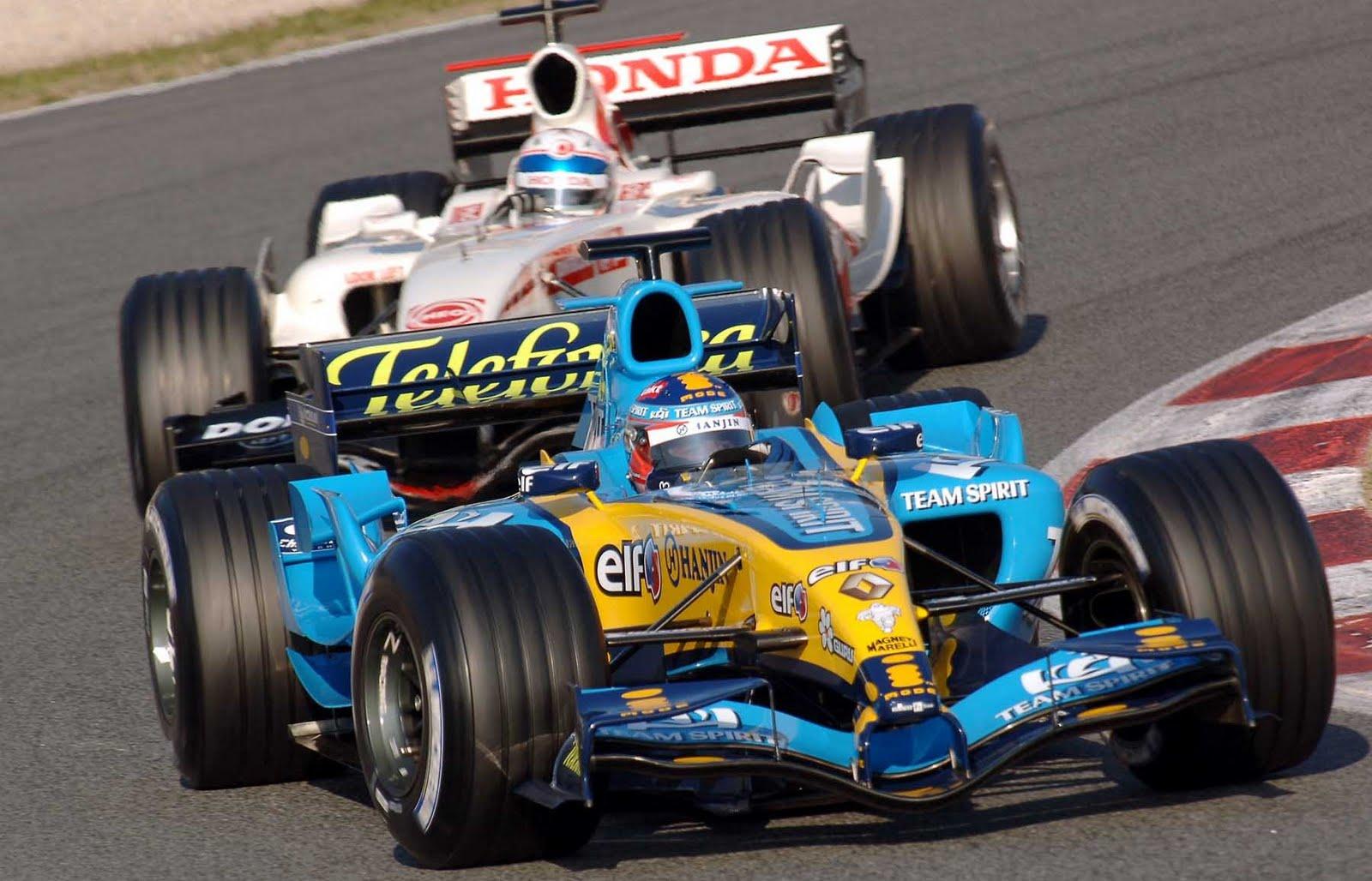 Renault F1, equipe histórica de Formula 1 de 2005 - by blogsportbrasil.blogspot.com