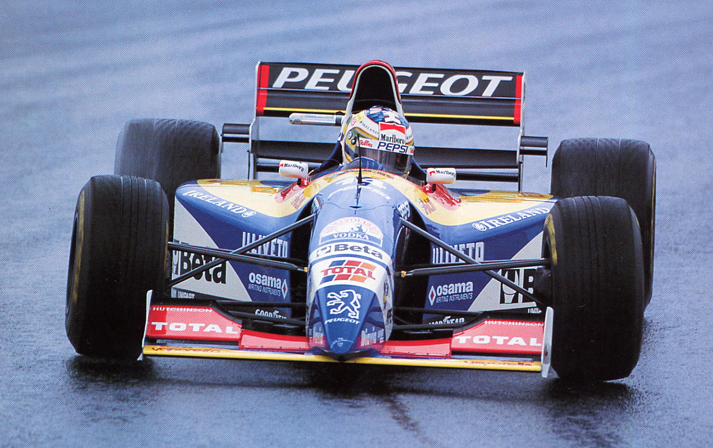 Temporada de Formula 1 em 1995, Barrichello by blogdaggoo.blogspot.com
