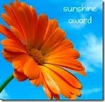 We have a Sunshine Award!