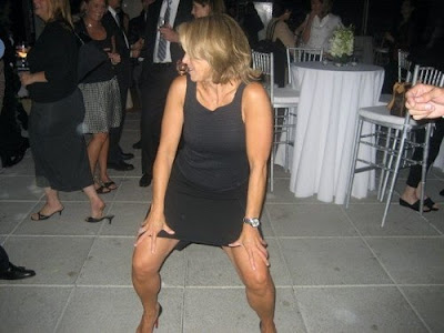 Katie Couric Drunk At A Wedding