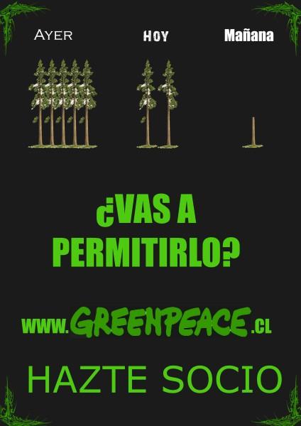 publicidades comerciales  propagandas green peace medio ambiente