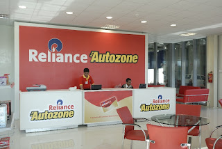 Reliance Auto Zone within Reliance Mart