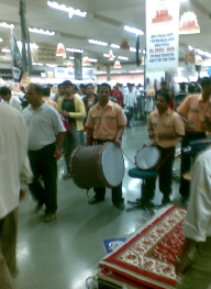 Truly Indian Way of Promotions at Big Bazaar