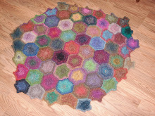 Diane's Hexagon Blanket