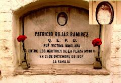 VICTIMA DE LA MATANZA DEL 21 DICIEMBRE 1907