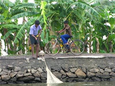 pesca canales kerala