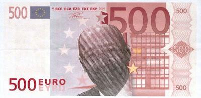 Nouveau billet de 500 euros