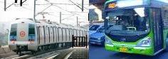 dtc and Delhi metro