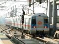 delhi metro train pic