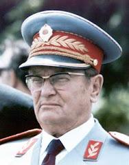 El Mariscal Josip Broz Tito, presidente de la Federación Yugoslava hasta 1980