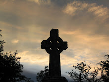 Celtic Cross at dawn