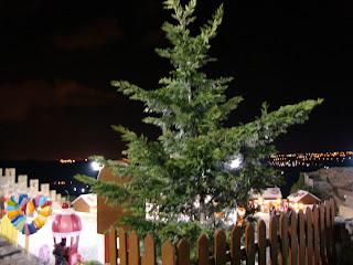 Árvore na Feira do Chocolate