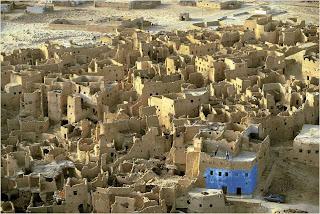 Ruinas da Cidade Medieval de Shali, Egipto