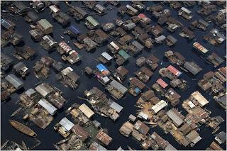 Casas Botes em Lagos, Nigeria