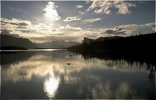 Belo rio na Laponia