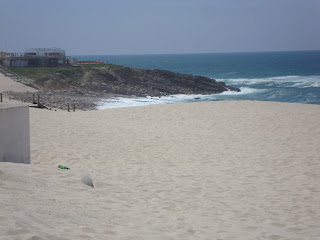 Praia do Pedrogão - Zona junto ás rochas