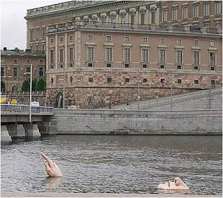 Escultura em Estocolmo