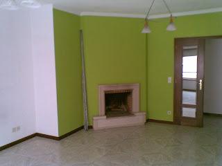 Sala do apartamento T2 em Valadares - Vila Nova de Gaia