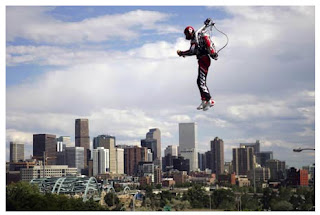 Homem voador - Jetpack