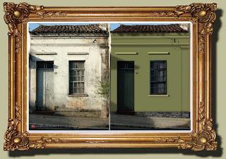 Rua José Galvão - Reconstrução e restauração de fotos danificadas
