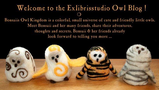 Exlibrisstudio Owl Blog