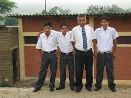 Alumnos el 4º grado de Educacion Secundaria