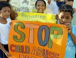 ¡Basta de abusar a los niños!