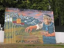 Mural a Casimiro Huenelaf