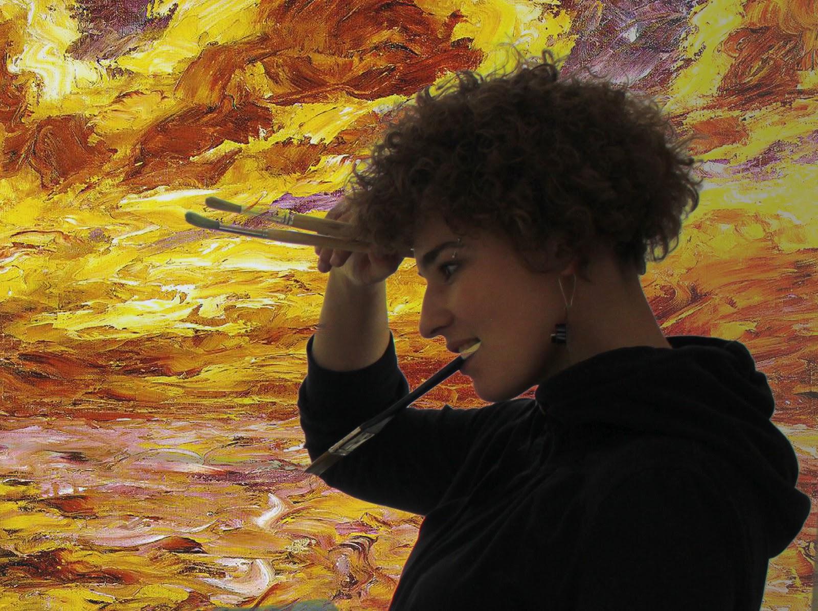 a5230eb07e6f Natchnienie w pracowni Malarstwa Wyższej Szkoły Artystycznej