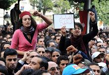 ¡Viva la revolución tunecina!
