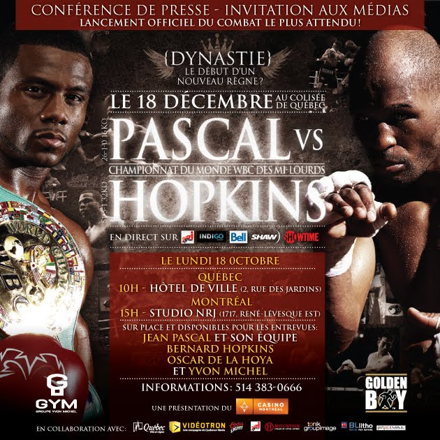 bernard hopkins vs jean pascal. watch Jean Pascal vs Bernard