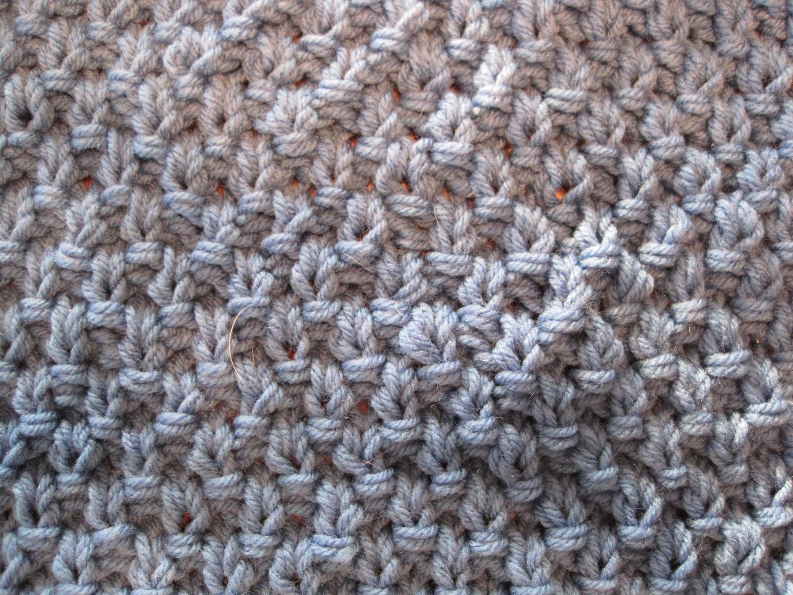 Knitting Blanket Moss Stitch : My Sampler Blanket
