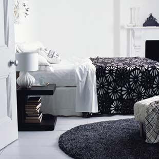 Black and white bedroom - Siyah Yatak Odalar�