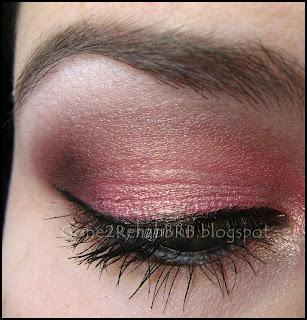 a look using BEYu cosmetics trio