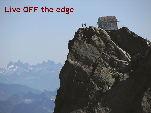 Live off the edge