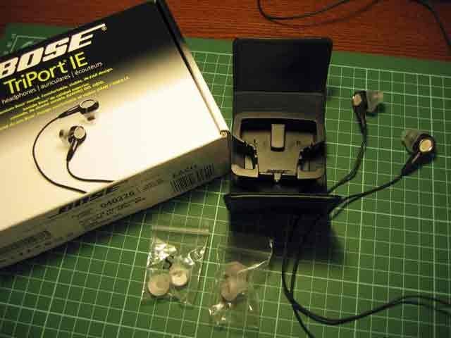 random thoughts: Bose TriPort IE headphones