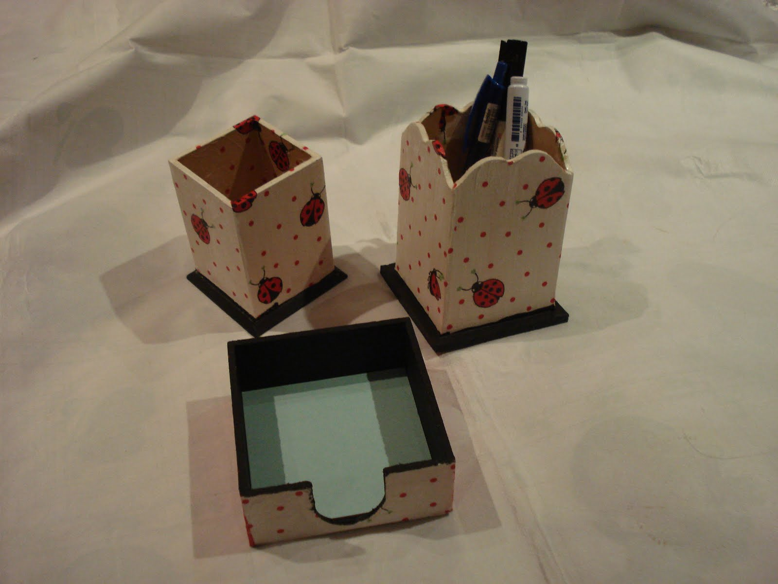 Cumelen arte en decoupage arte en madera catalogo 2010 - Juego de escritorio ...