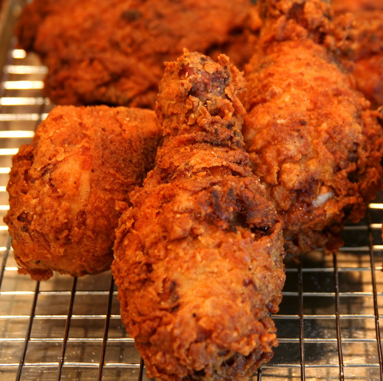 Culturally Confused: Ad Hoc at Home: Buttermilk Fried Chicken