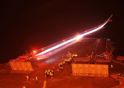 TAMIYA USS Enterprise CVN-65 - Page 9 USN+USS+Enterprise+CVN-65+Flight+Deck+Night+Launch+FA-18C+VMFA-251