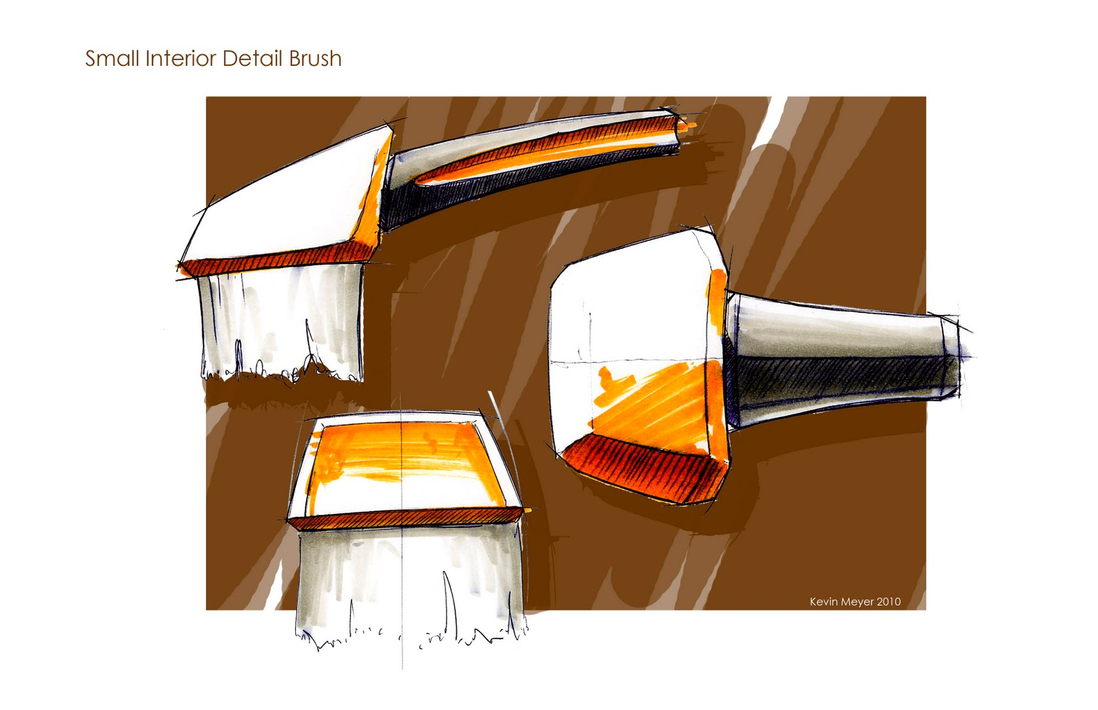 car detailing brush set sketches kevin meyer. Black Bedroom Furniture Sets. Home Design Ideas