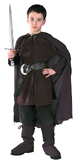 kids aragorn costume (lord of the rings)