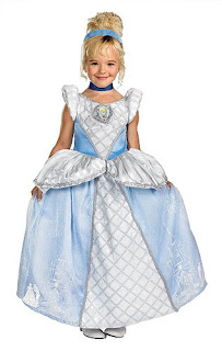 Child Cinderella Costume (Prestige)