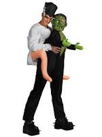 funny halloween costume - Frankenstein