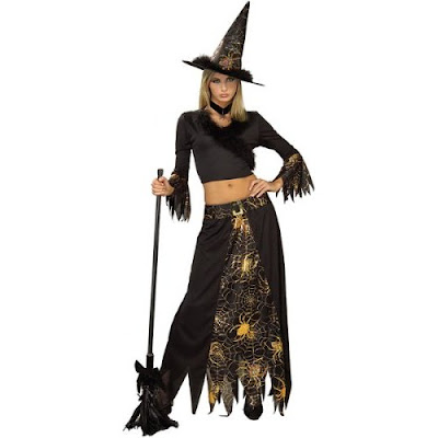 Cheap Halloween Witch Costume