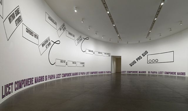 Text Me Up Lawrence Weiner Ideaminefield