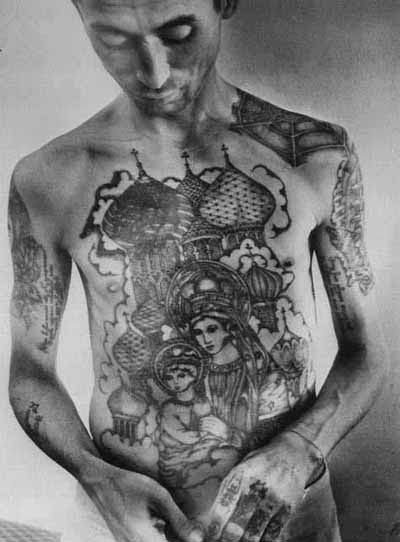 """Russian Criminal Tattoos"" Show opens 29 October 2010 and runs through 28"
